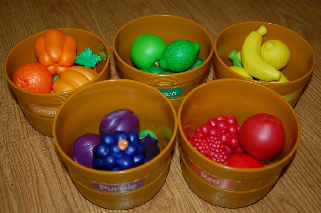 во сколько лет ребенок должен знать цвета