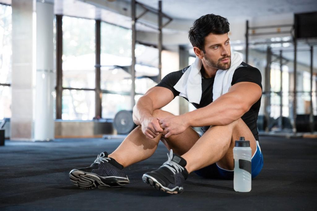 свершений мужские фотосессии в фитнес зале особенностью