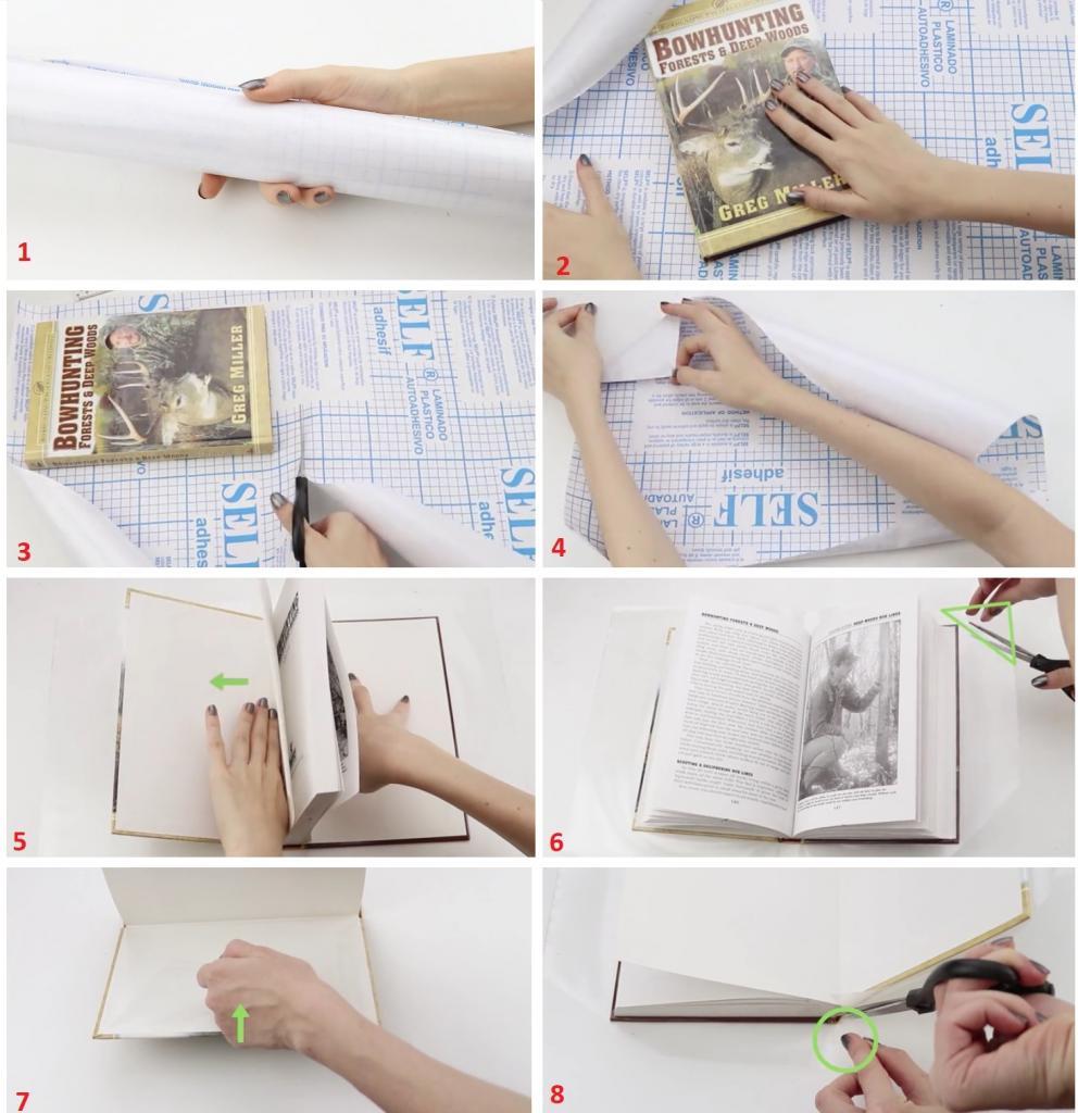 из чего можно сделать обложку для книги