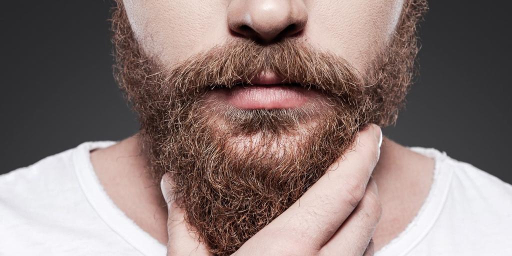 рука на бороде